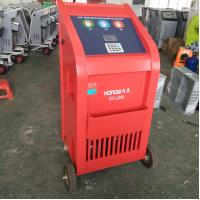 Quality Vacuum Refill R134a Refrigerant Recovery Machine , Air Conditioning Charging Equipment for sale