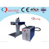 Quality Portable Laser Marking Machine For Bangle , Air Cooling Desktop Engraving Machine for sale