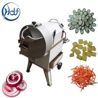 Buy cheap Carrot Potato Dicing Commercial Vegetable Cutter 300 - 1000kg/H Capacity from wholesalers
