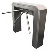SUS304, RS485 IP54 Bridge Slope Cover Tripod access control turnstiles Subway Station