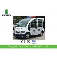 Quality AC Motor Drive Mini Electric Utility Cart / Sightseeing Bus For Park Patrol for sale
