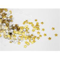 Quality Festival Decoration Star Gummed Shapes No Glue Easy To Stick And Move Off for sale