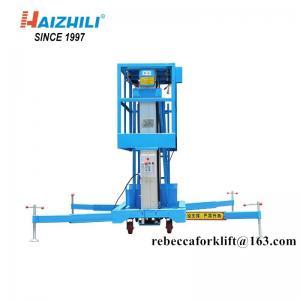 China China low price 125kg 8m outdoor aluminium working lift platform on sale
