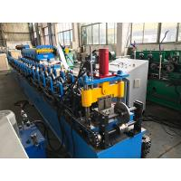 China Cr12 Roller Ceiling Roll Forming Machine Double Head Decoiler 5.5kw on sale