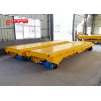Quality 30t Mobile Cable Electric Flatbed Rail Transfer Trailer for steel mill handling for sale