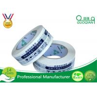 Quality Adhesive Bopp Packaging Strapping Tape , Strong Parcel Tape Tape For Packing Boxes for sale