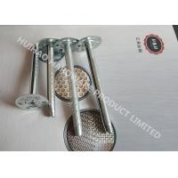 Quality Galvanized Steel Insulation anchor Pins For Mineral Wool Wall Inaulation Board for sale