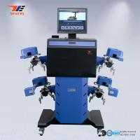 Quality Car 3D Wheel Aligner Automatic Machine High Precision With Adjustable Camera Beam for sale