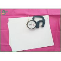 Quality 92%-94% Whitness Woodfree Printing Paper , White Plain Paper Offset Printing for sale