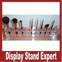 Buy cheap Unique design! Acrylic cosmetic display racks, makeup brush display, acrylic box from wholesalers