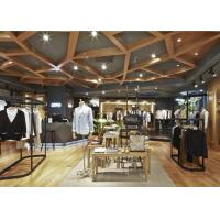Buy Casual Style Men Clothing Store Fixtures / Store Display Furniture For Retail Shop at wholesale prices