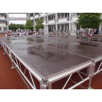 Buy cheap Mobile Event Round Portable Stage Platforms For Lighting Truss Stage Adjustable from wholesalers