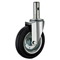 Quality Round Stem Precision Scaffold Caster Wheels With Hollow Kinping 35x100L for sale