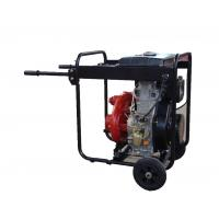 Quality Cast Iron High Pressure Water Pump Big Fuel Tank KDP30H With Handles And Wheels for sale