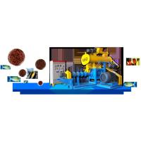 Quality DSP70 Wet Type Fish Feed Pellet Extruder for Floating Fish Feed Pellet Production for sale