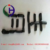 Quality Granule shape coal tar pitch with the pencil shaped  special for the prebaked anode for sale