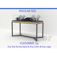Buy All In One Services Inexpensive Metal Glass Jewelry Display Cases at wholesale prices