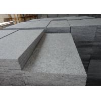 Quality Flamed Surface China Bianco Grey G602 Granite Stone Tiles For Outdoor Paving for sale