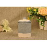 Quality Hand Made Ceramic Candle Jar Anti Thermal For Air Refreshment for sale