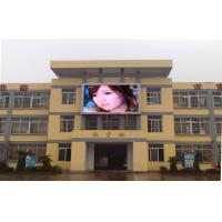Commercial Advertising Outdoor Full Color Builiding LED Display Screen PH8mm