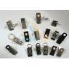 Buy cheap Nickel Plated Lanyard Metal Clip , Embossed U Type Stainless Steel Bulldog Clips from wholesalers