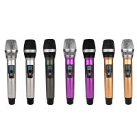 Buy Colorful Dual channel Wireless Microphone System All Metal SR-880S at wholesale prices