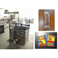 Quality 3 Side / 4 Side Seal Sachet Packaging Machine , Ketchup Shampoo Packing Machine for sale