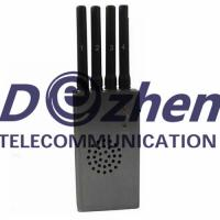Quality Portable High Power Wi-Fi & Cell Phone Jammer with Fan (CDMA GSM DCS PCS 3G) for sale