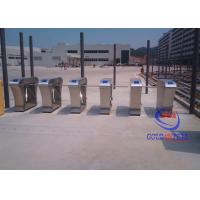 China Unique Access stainless steel turnstiles , pedestrian turnstile gate Anti retrograde on sale