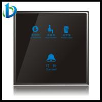 China touch switch crystal glass panel on sale