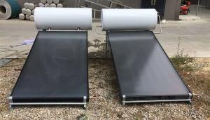 Quality flat plate compact solar water heater 4, flat plate water heater for sale