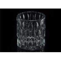 Quality Home decoration Wedding Decorative Glass Candle Jars Glass Candle Containers for sale