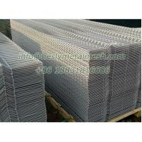 Quality WM04 PVC coated welded wire mesh panels for security fence for sale