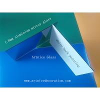 Quality 1.8mm clear aluminum mirror glass, clear aluminum mirror float glass,clear aluminum mirror for sale