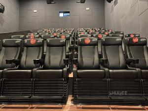 Quality Strong Tech 4D Cinema Motion Seats Leather Chair Customizable Logo for sale