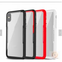 Buy cheap Armor Glass Mobile Case Cover Tempered For Iphone X Shockproof Red Pink Green from wholesalers