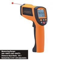 Quality Data Store/Recall Function, Handheld Digital Laser Infrared Thermometer IR1650, Data Hold function for sale