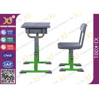 Quality Economic Modern Standard School Table Chair Set For Single Student for sale