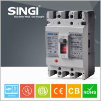 Buy 3 / 4 Poles Molded Case Earth Leakage Circuit Breaker 100 Amp 3P MCCB at wholesale prices