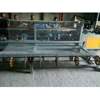 Buy 2 Width double wire feeding   Full Automatic PLC  Chain Link Fence Machine at wholesale prices