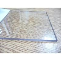 Quality Transparent Polycarbonate Sheet / Uv Resistant Polycarbonate Sheets Sound Barrier for sale