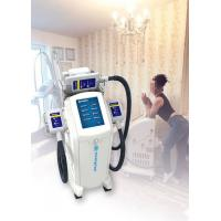 Quality Vertical Cryolipolysis Fat Freezing Machine , Supersonic Fat Reduction Device for sale