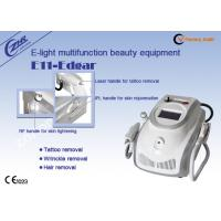 Quality 1mhz Rf Ipl Laser Permanent Hair Removal Tattoo Removal Machine Ac220v / 50hz for sale