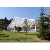 Quality Transparent  Aluminum Customized Canopy Tent 10m * 15m With Clear Top / Side for sale