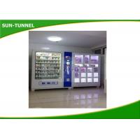 China Commercial Business Fresh Food Vending Machine LCD Display For Advertising on sale
