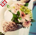 Quality Artificial Floral Wedding Bouquet Flower Christmas Decoration for sale