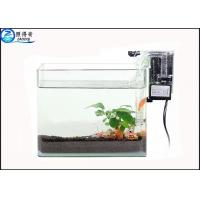 Buy Transparent Silent Aquarium Water Pump / Fish Pumps With External Filter For Oxygen Supply at wholesale prices