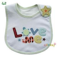 Quality Embroidery Baby Bib for sale