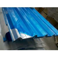 Quality 2200mm Max Width Corrugated Aluminum Sheets with Mill and Stucco Embossed Finish for sale