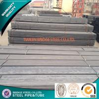 Quality Black Square Steel Pipe ASTM A500 / Structural Steel Tubing API K55 for sale